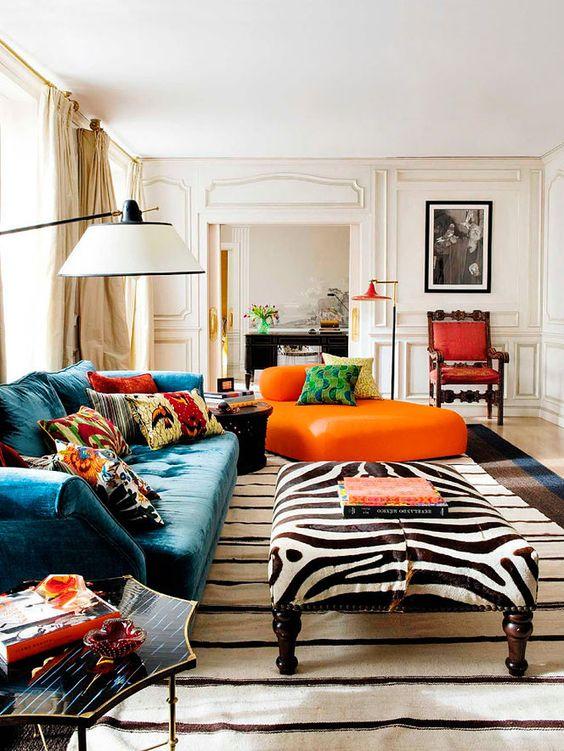 decoracao sala zebra: mais descontraída. Para isso, a Almofada Print Zebra é perfeita